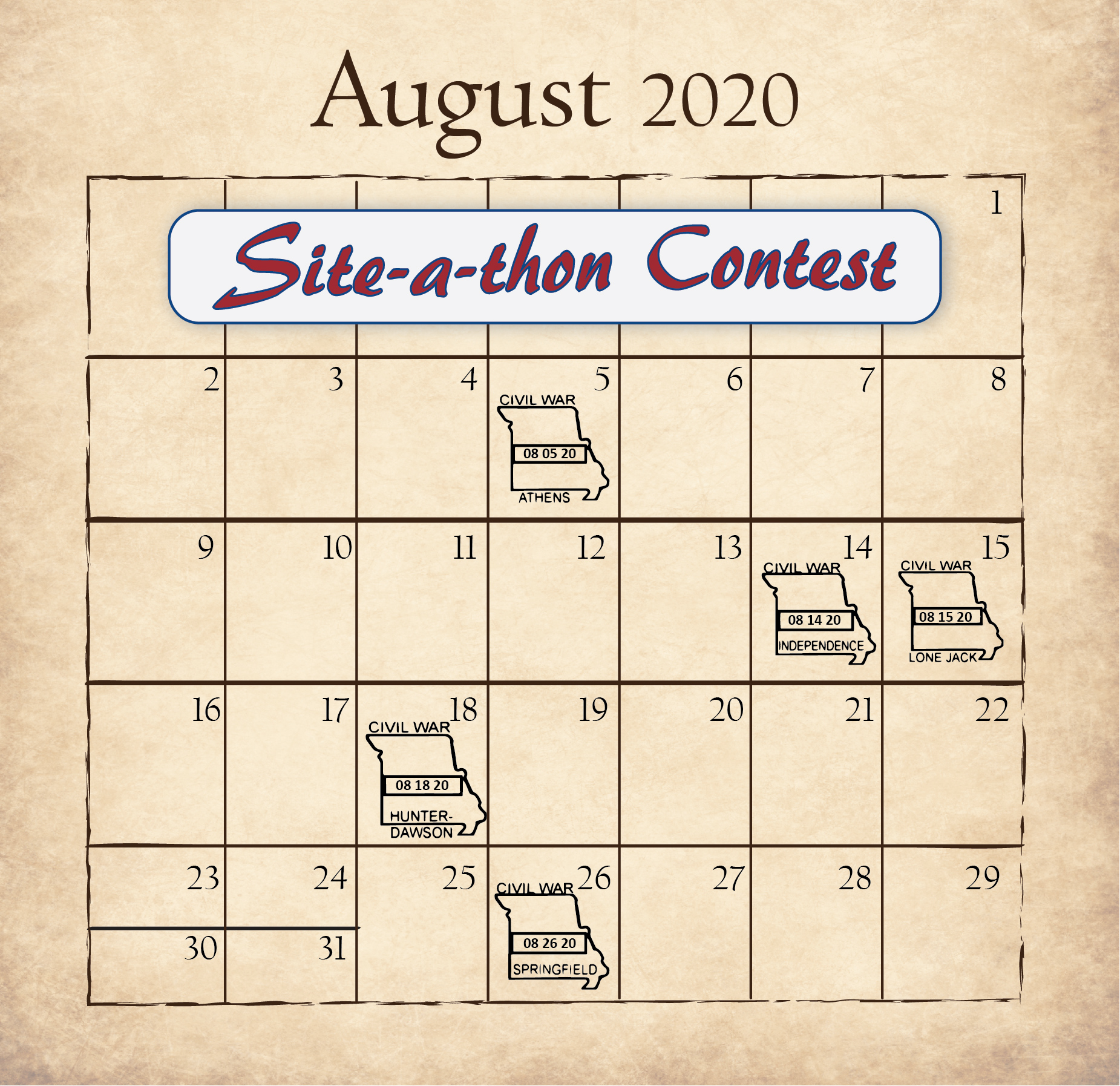 Aug site-a-thon contest