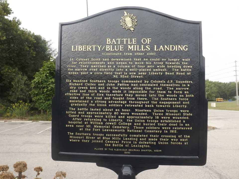 Battle of Liberty Sign