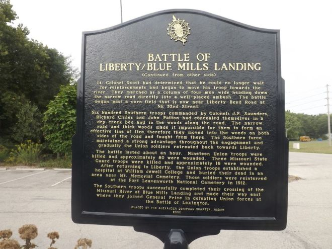 Battle of Liberty Sign