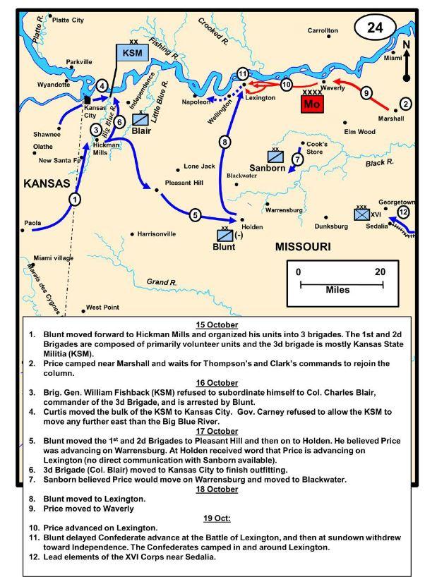 Lexington II Map