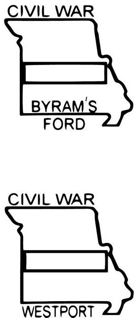westport & Byrum stamps