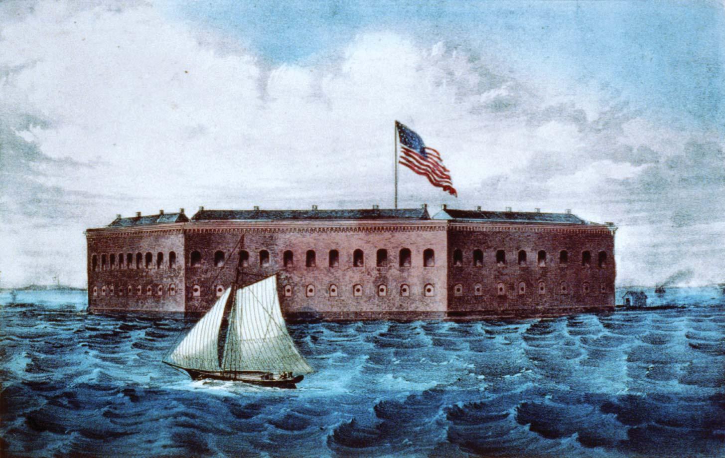 Ft Sumter Brittanica