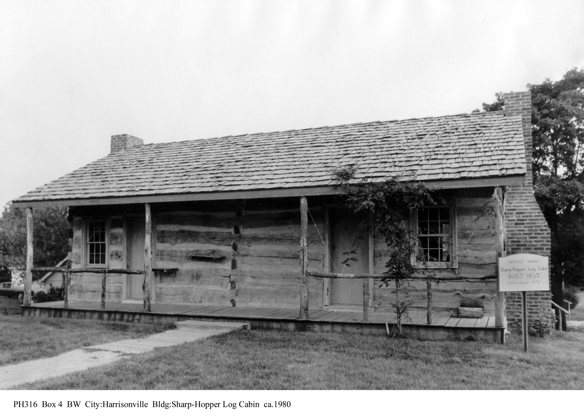 Sharp-Hopper Log Cabin